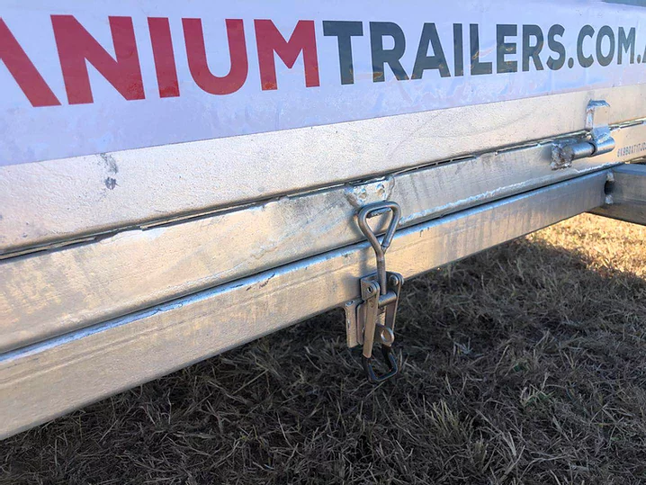 8x5 Single Axle 750kg | Titanium Trailers